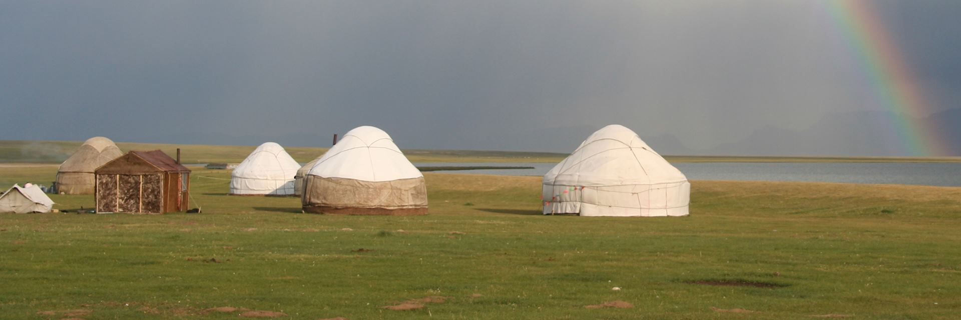 Yurt camp, Lake Issyk Kul