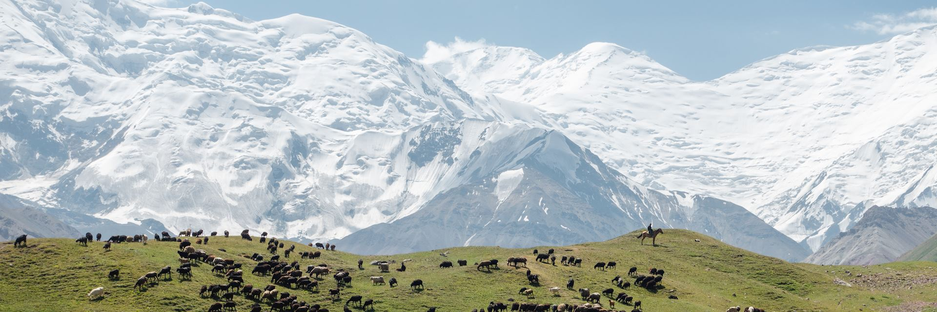Pamir Mountains in the Osh region