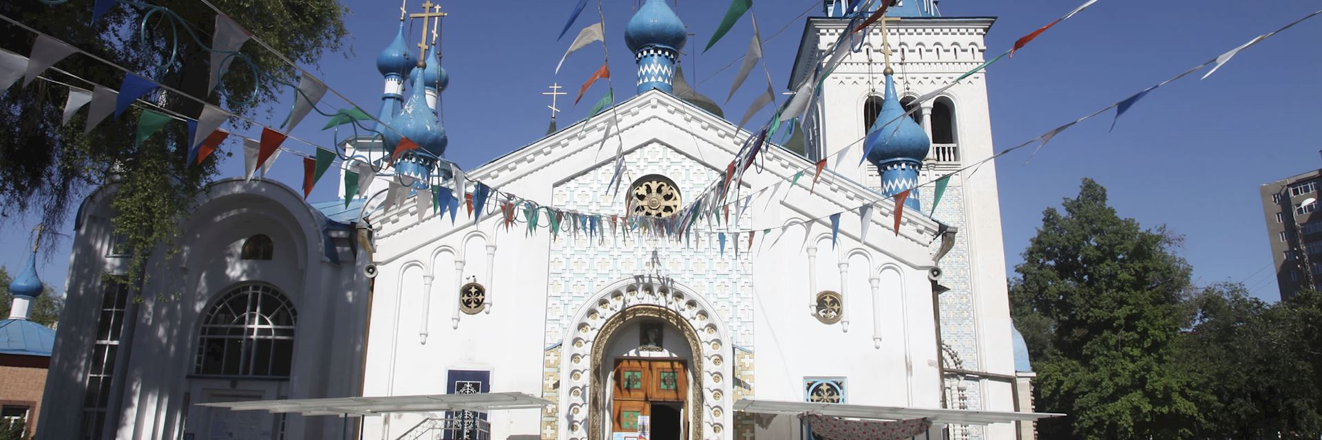 Russian Othordox church in Bishkek