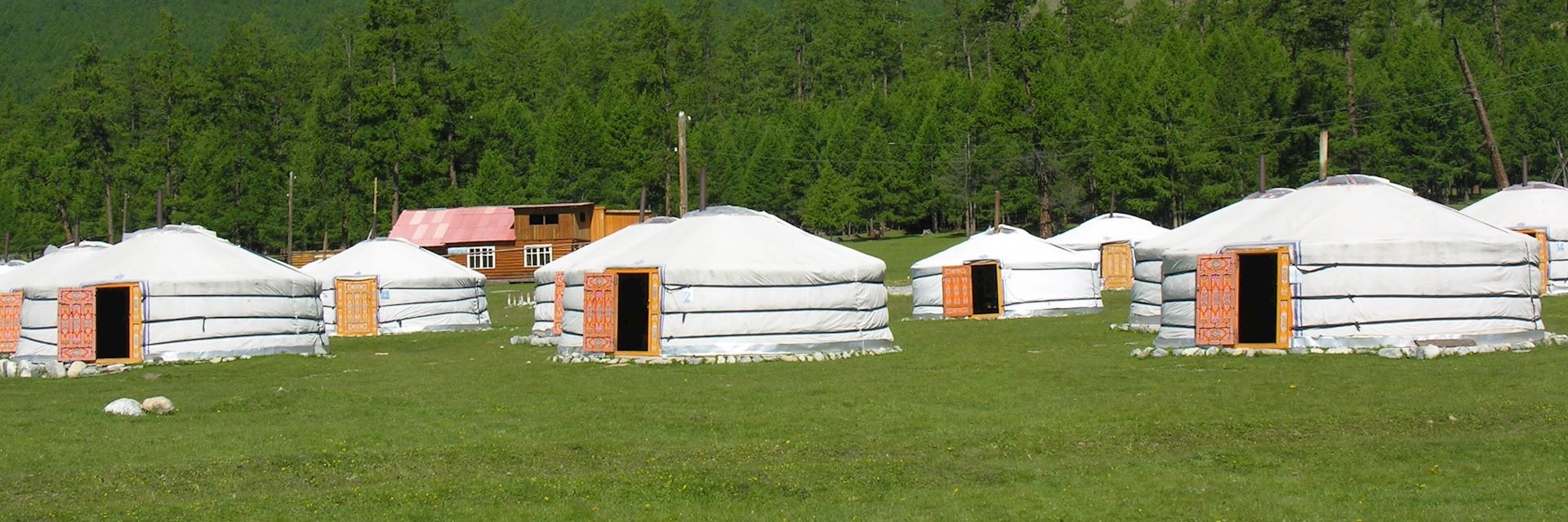 Blue Pearl Ger Camp, Khuvsgul Lake