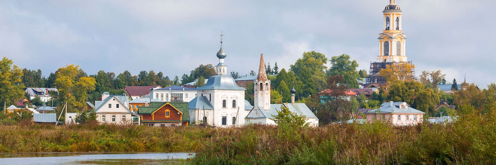 the quiet town of Suzdal