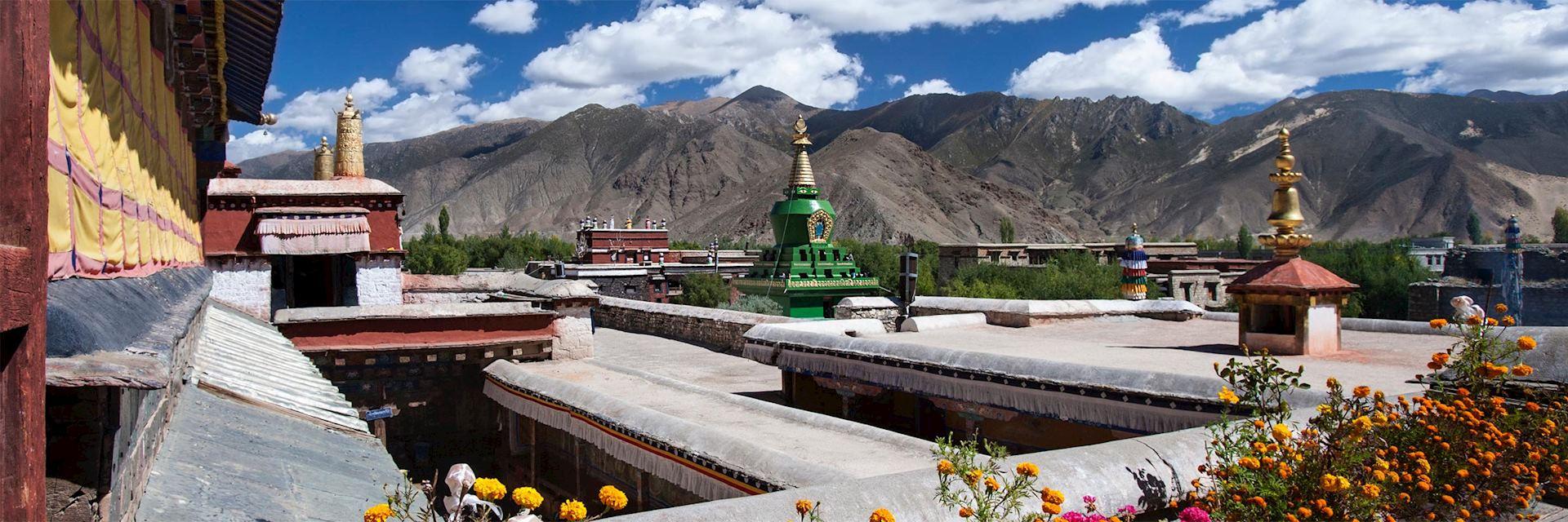 Monastery in Tsetang