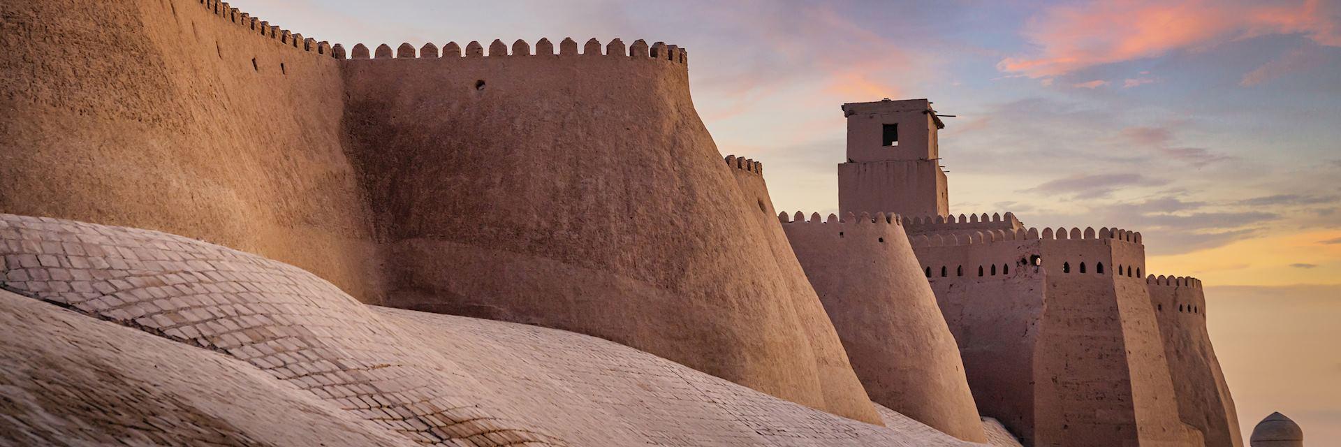Ancient city walls, Khiva
