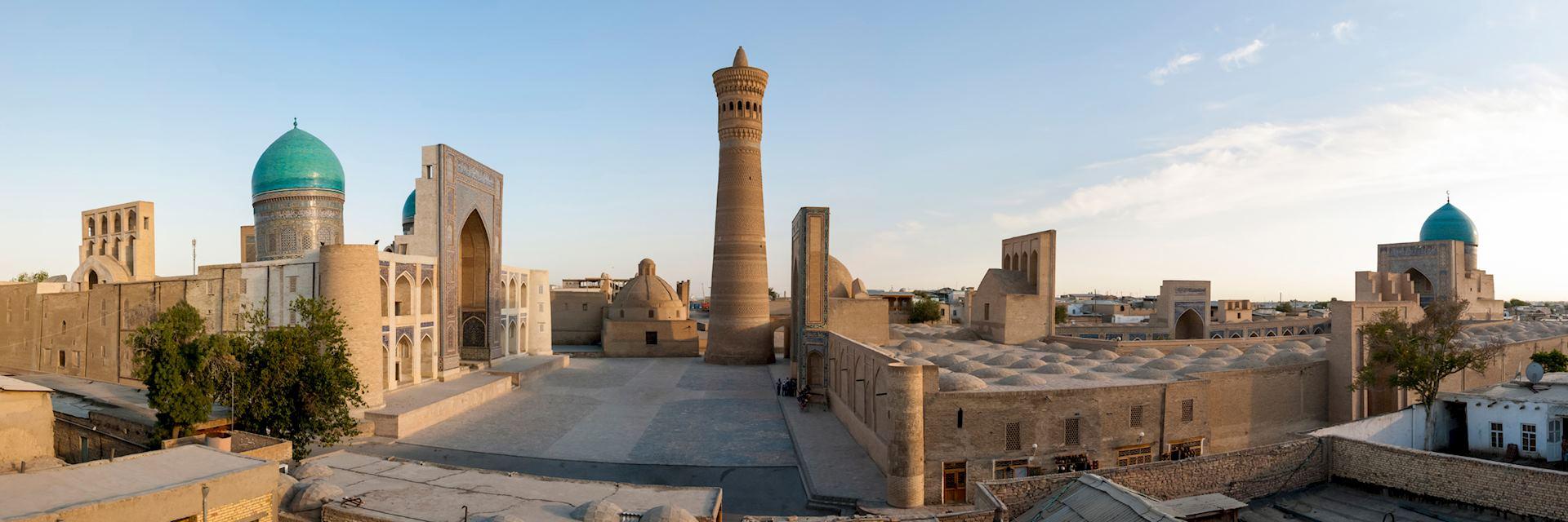 Buhhara old town in Uzbekistan