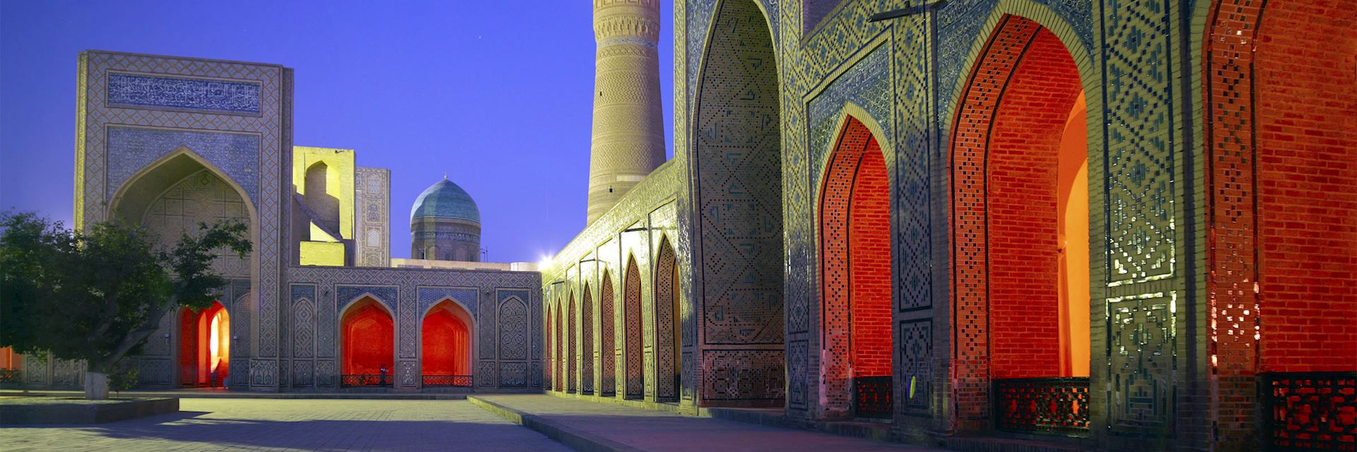Bukhara was on the ancient Silk Route