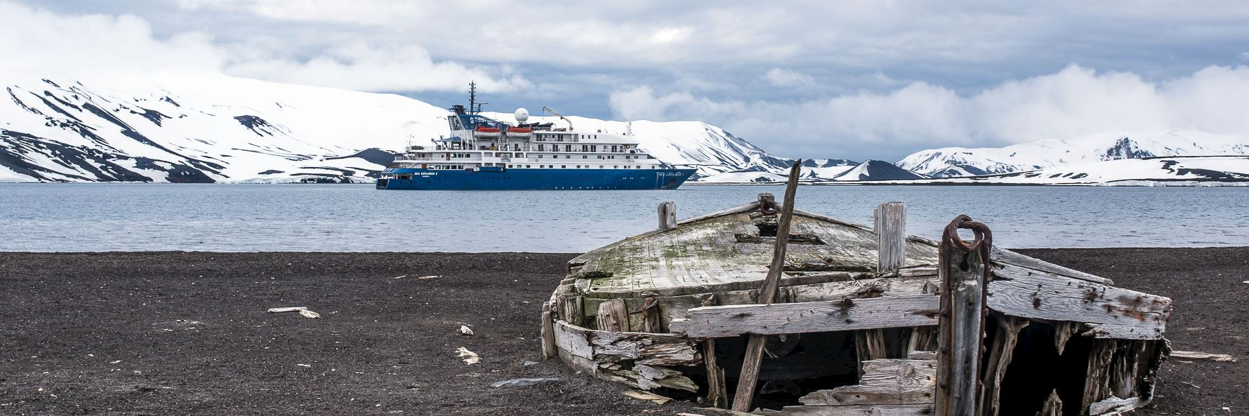 Cruise Ships in Antarctica: Hebridean Sky