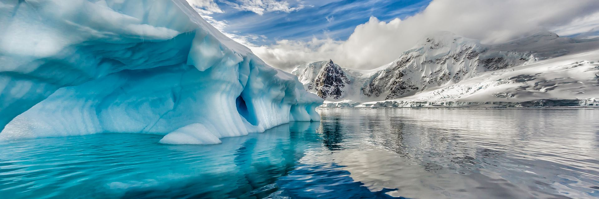 Iceberg in Andord Bay, Antarctica