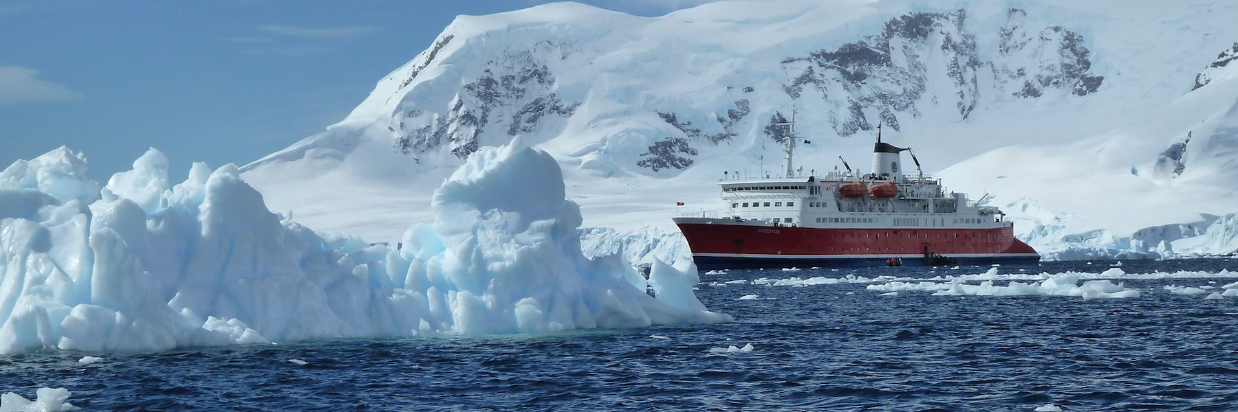 Cruise Ships in Antarctica: M/S Expedition