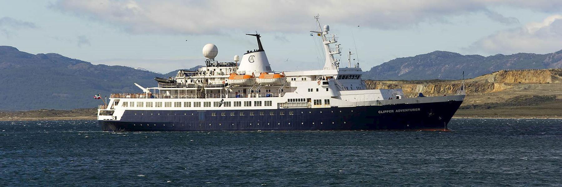Cruise Ships in Antarctica: Sea Adventurer
