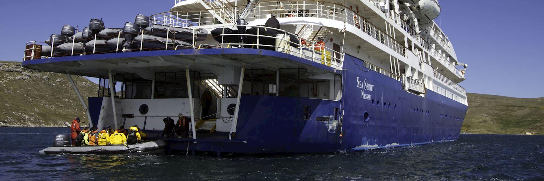 Cruise Ships in Antarctica: Sea Spirit