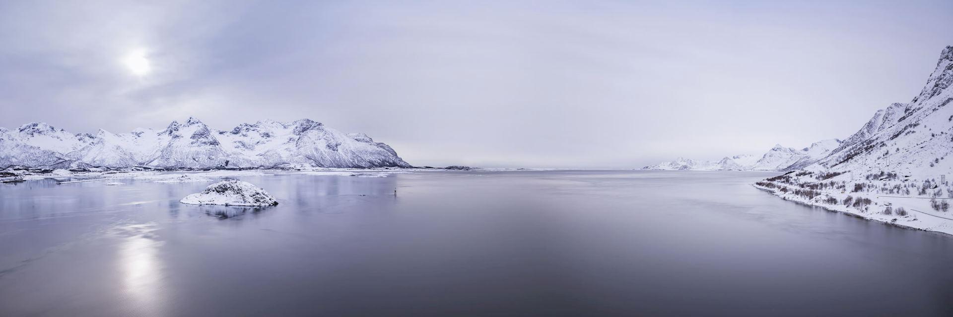Norwegian Arctic landscape