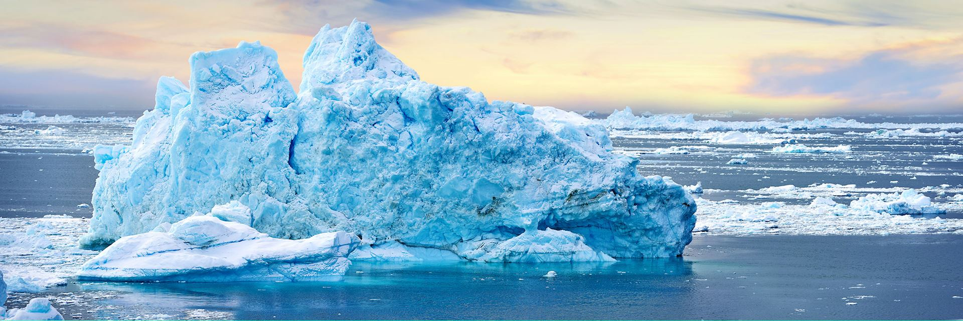 Ice formation in Greenland