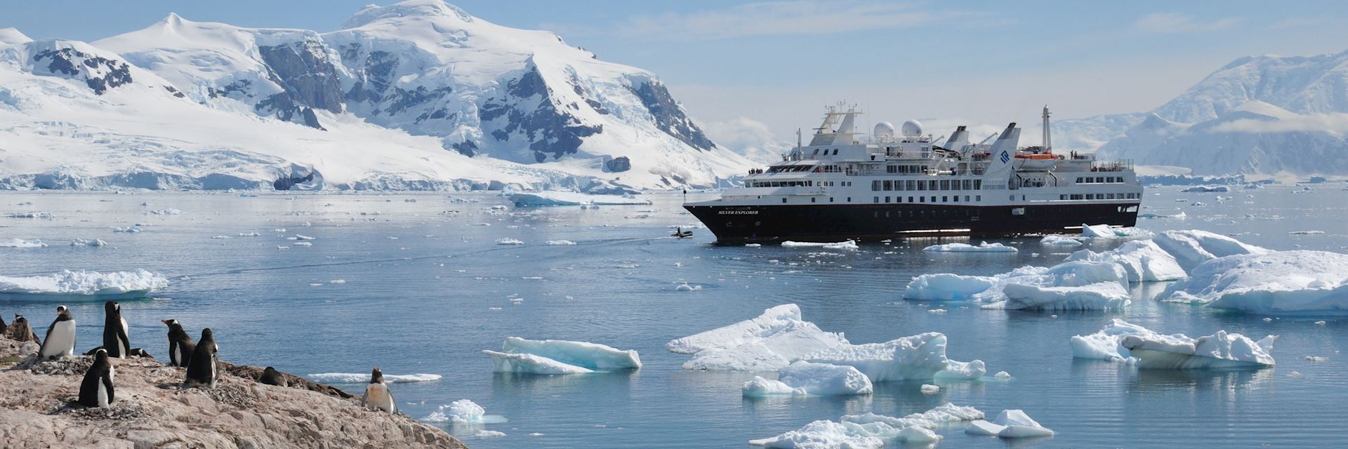 Silver Explorer in the Antarctic