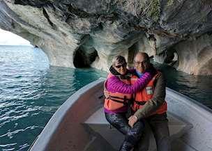A couple enjoying Chile