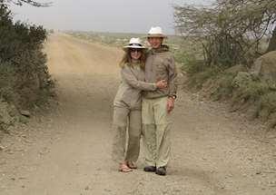 Kathy Yantakosol in Tanzania