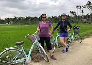Lesley in Vietnam