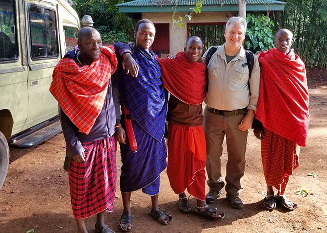 David in Tanzania