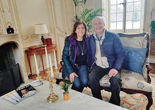 Pamela and Bill in France