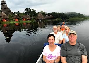 Rich and Amy in Ecuador