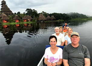 Rich and Amy in Ecuador