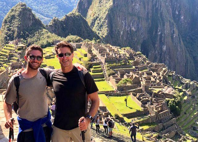 Glan Sage enjoys his time in Peru