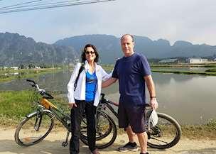 Jeanne and Douglas in Vietnam