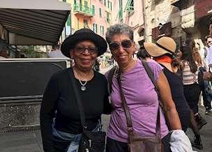 Inez in Italy