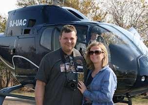 David Poole and Samantha Leech