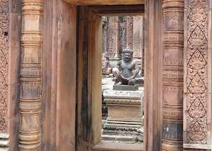 Banteay Srei, Siem Reap, Cambodia (taken by Scott Dalzell)