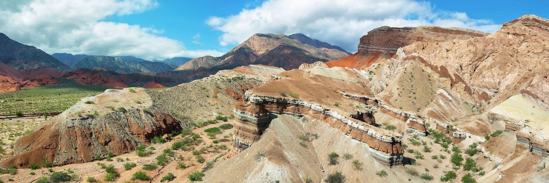 Mountains of Quebrada de las Conchas, Argentina