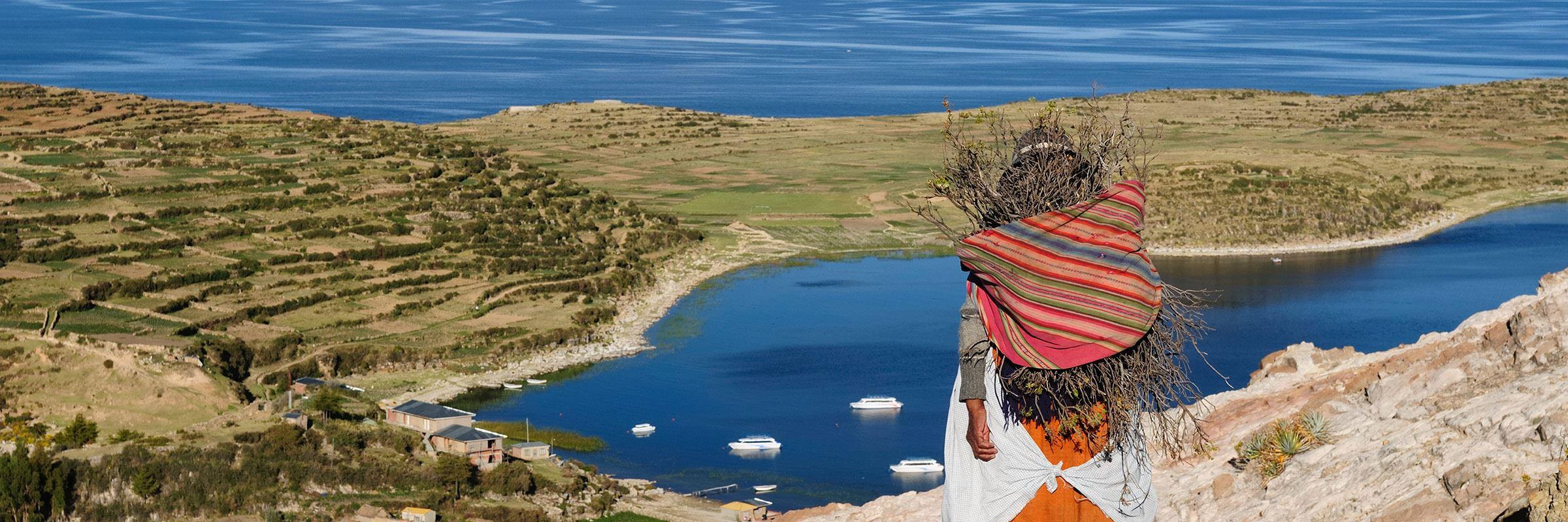 Lake Titicaca turns into kaku 3