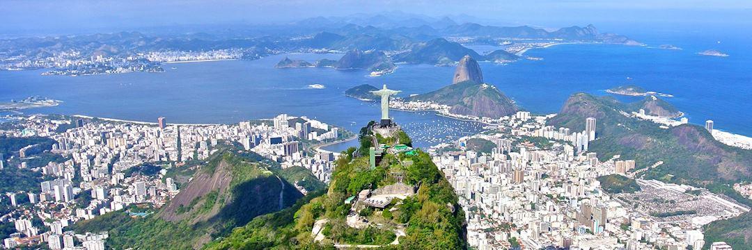 Christ the Redeemer overlooking Rio de Janeiro