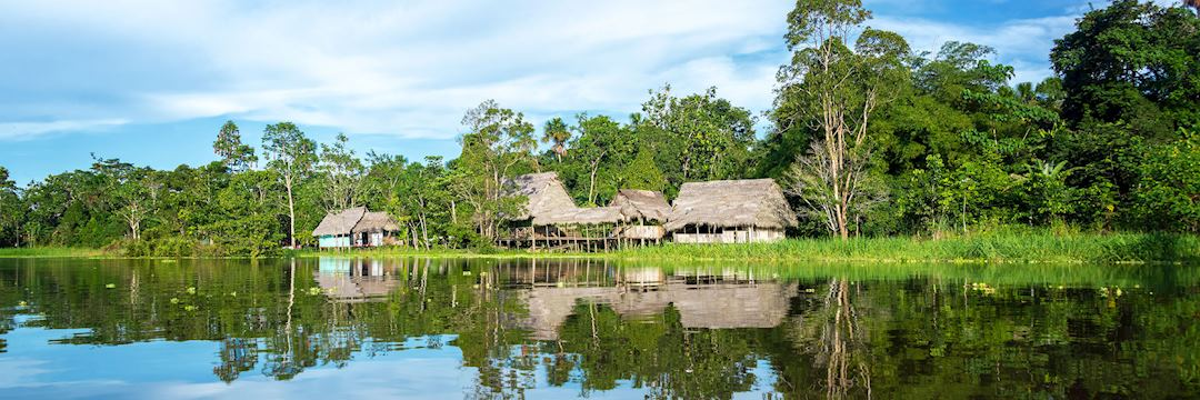Life along the Amazon River in Brazil