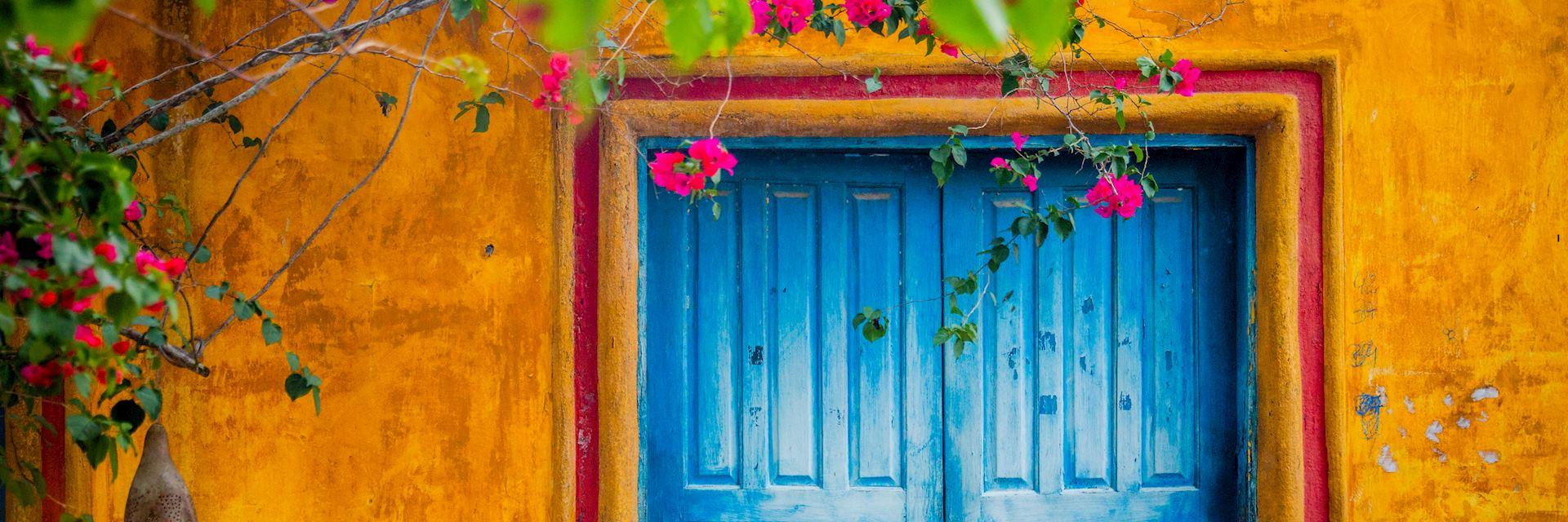 Doorway in Trancoso