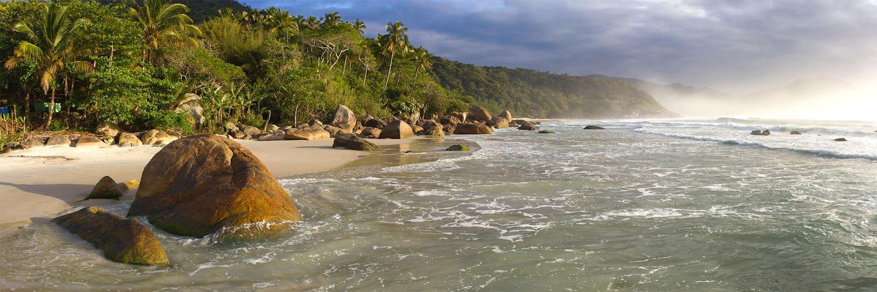Visit Ilha Grande, Brazil