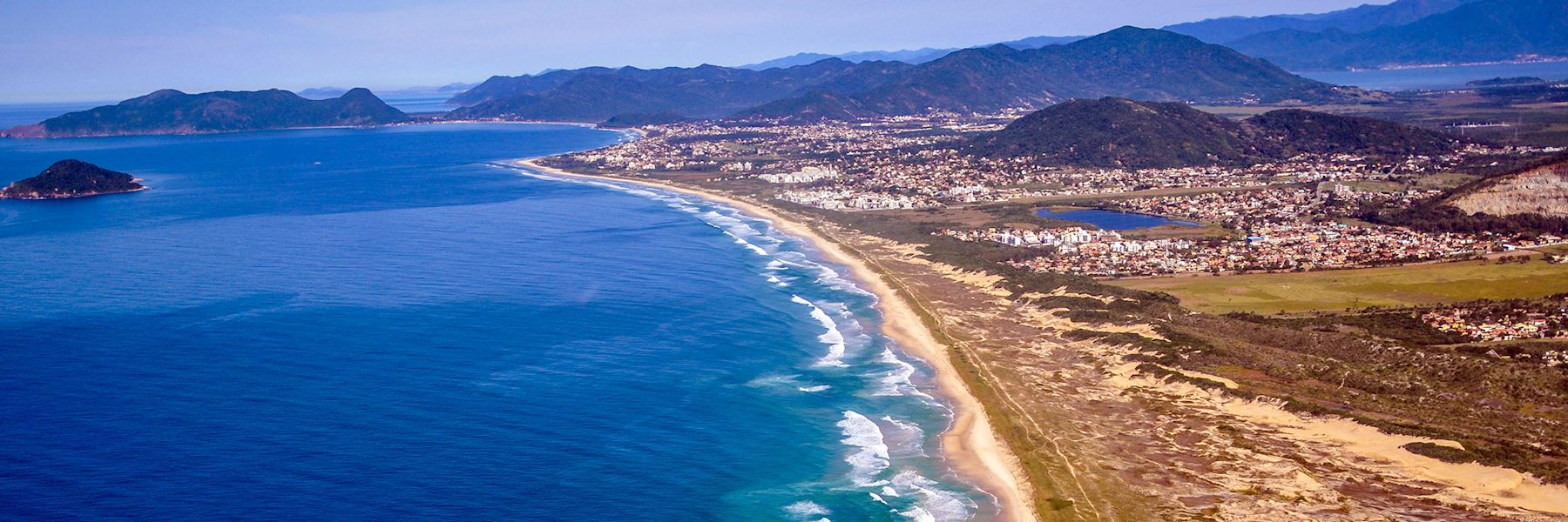 Visit Florianópolis, Brazil