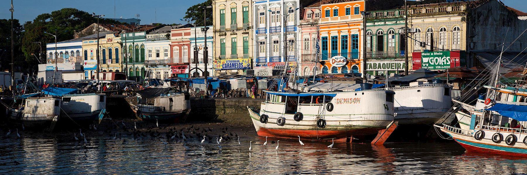 Visit Belém, Brazil