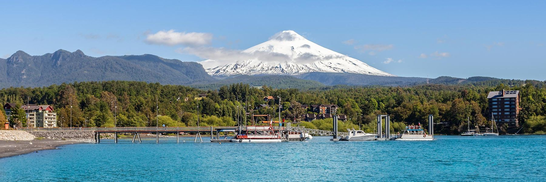 Visit the Northern Lake District, Chile