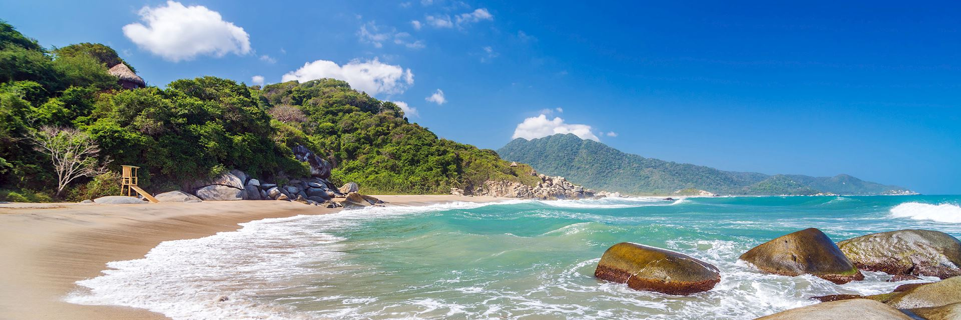 Beach in Tayrona National Park