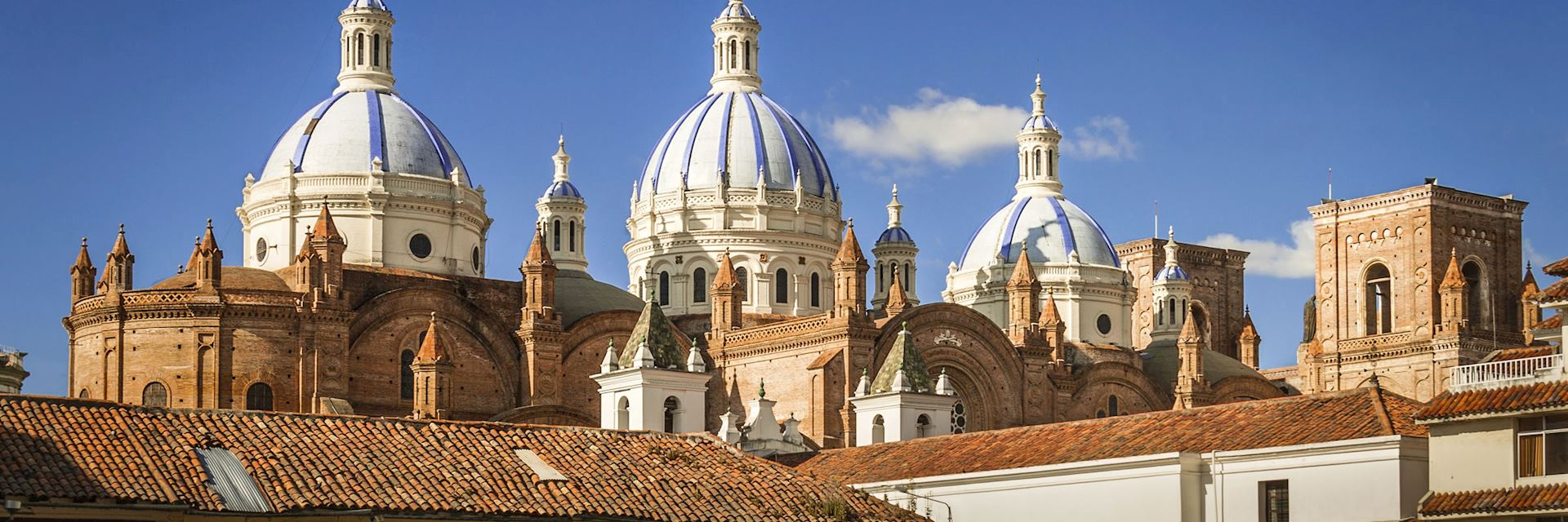 The Cathedral of the Immaculate Conception in Cuenca