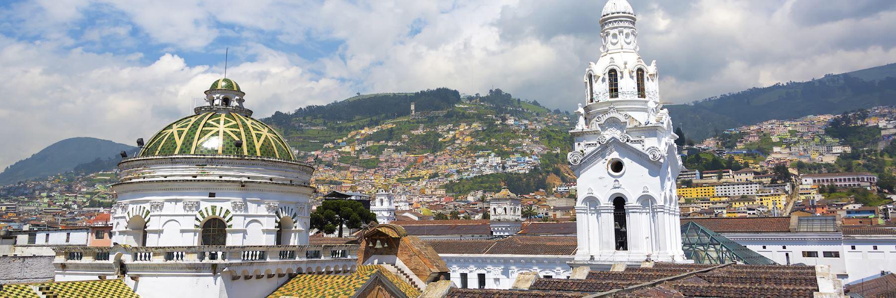 Visit Quito, Ecuador