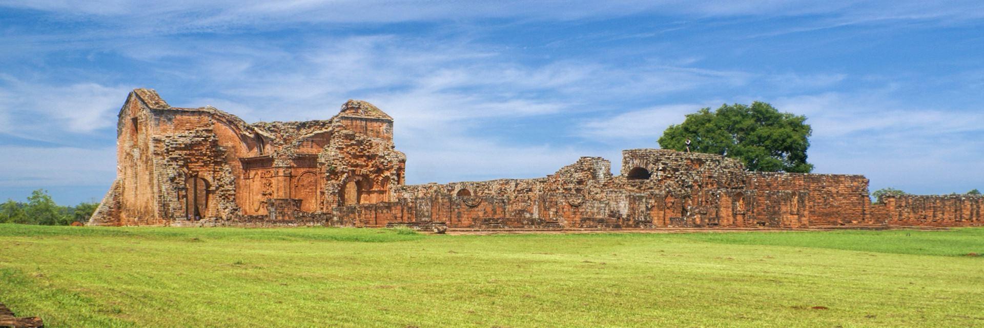 Encarnacion and Jesuit ruins, Paraguay