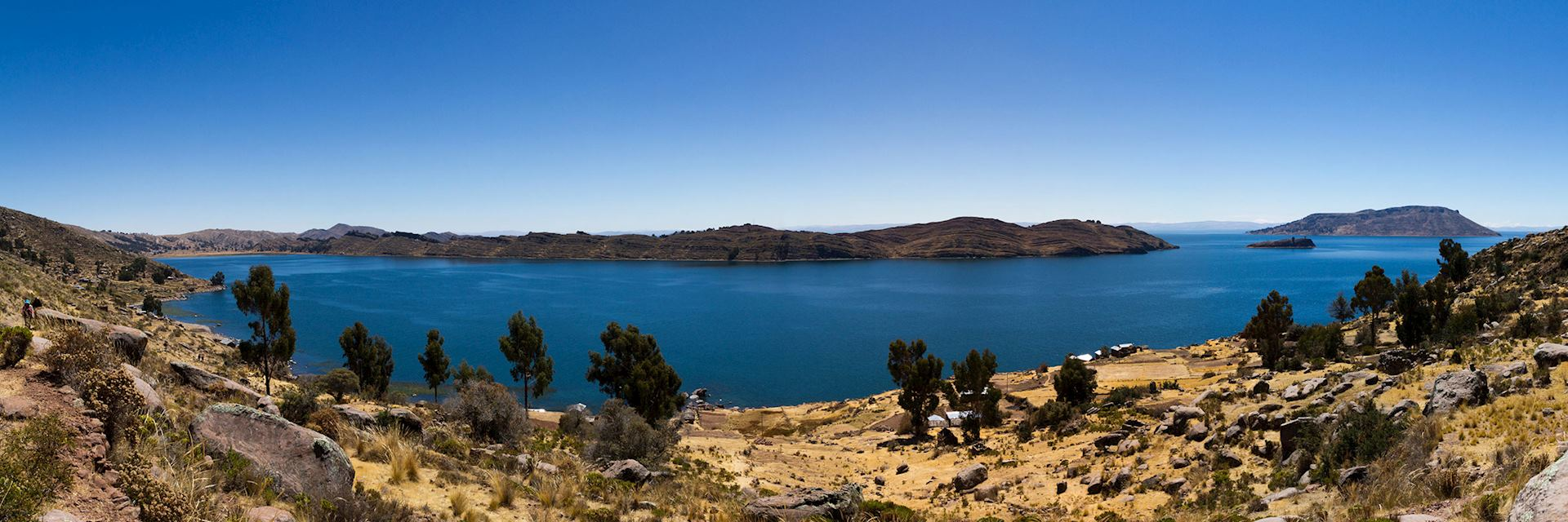 Lake Titicaca in Peru