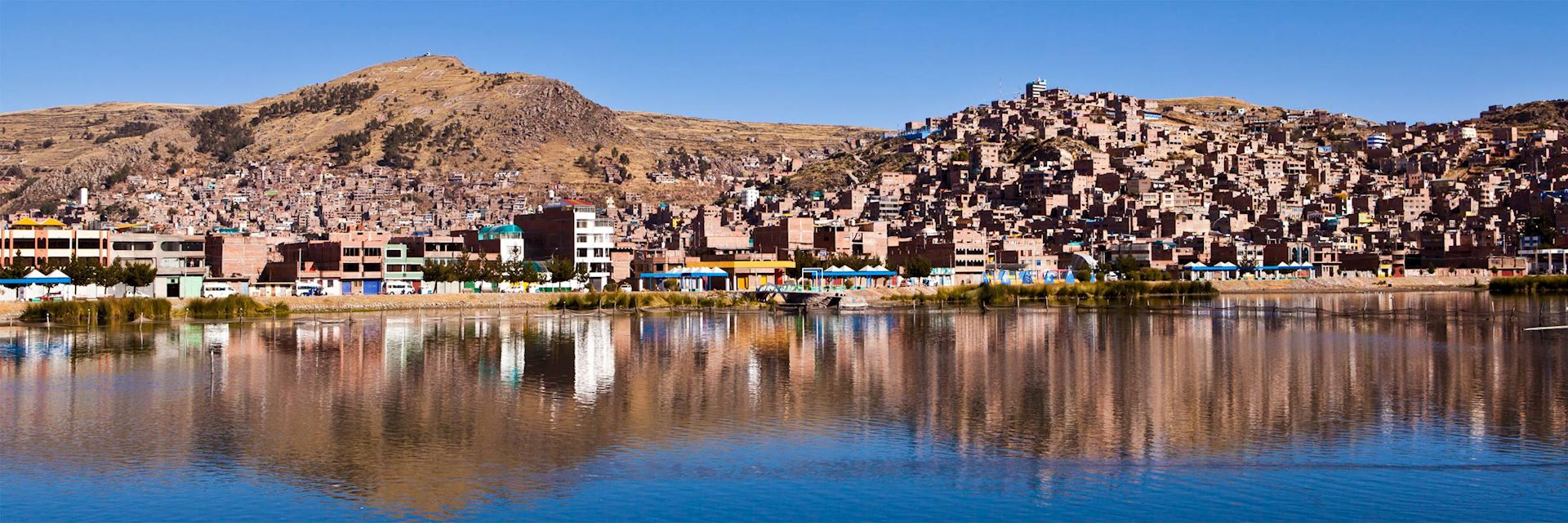 Puno from Lake Titicaca