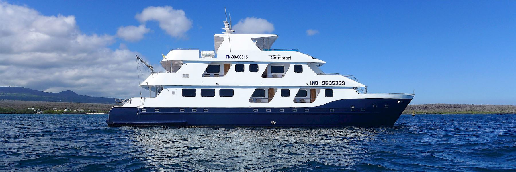Cruise Ships in The Galapagos Islands: Cormorant