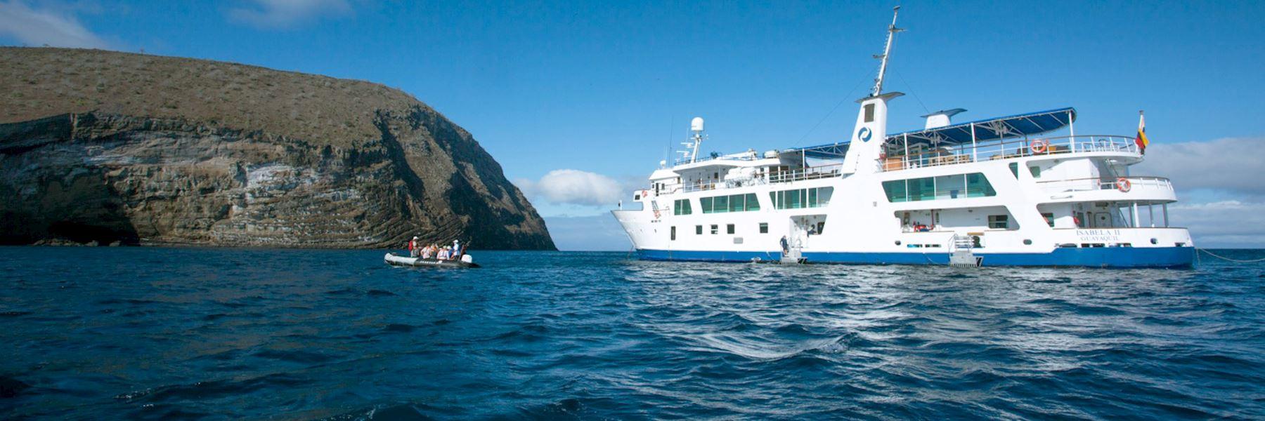 Cruise Ships in The Galapagos Islands: Isabela II