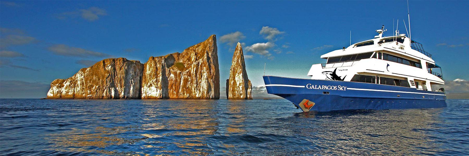 Cruise Ships in The Galapagos Islands: Galapagos Sky