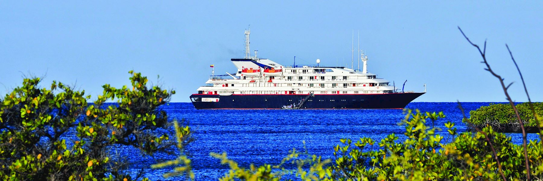 Cruise Ships in The Galapagos Islands: Silver Galapagos
