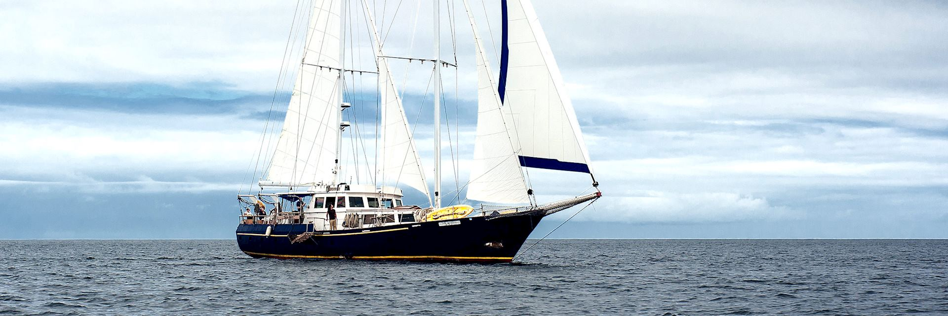 The Beagle yacht, Galapagos Islands