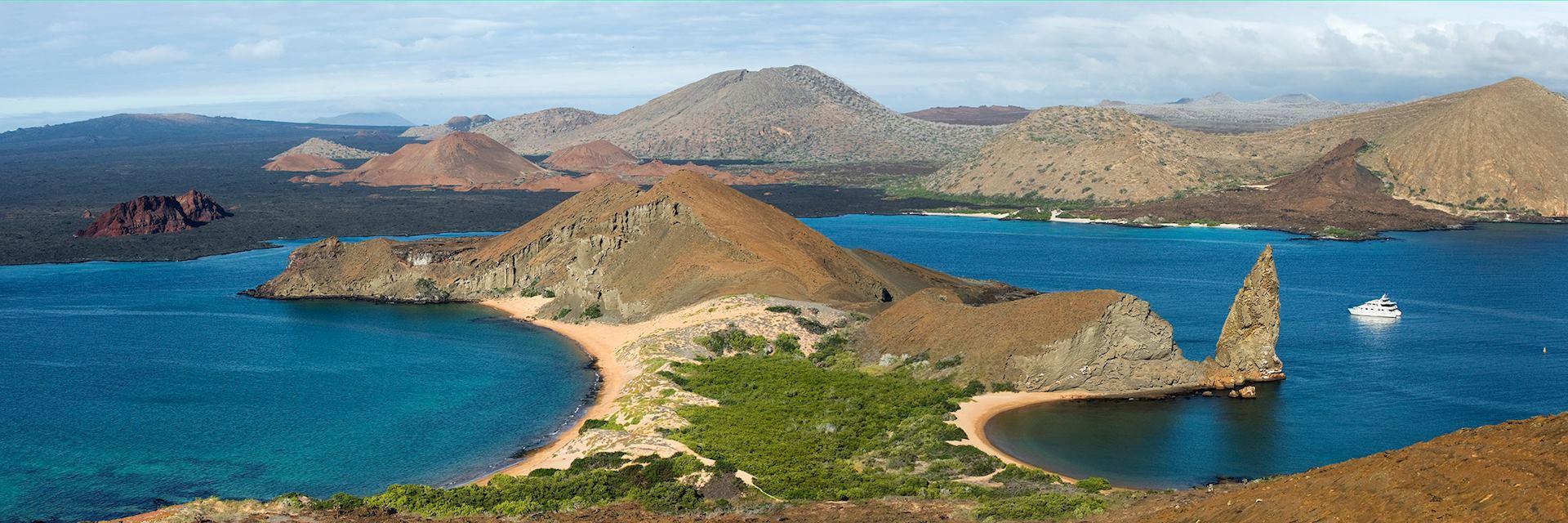 Bartolome Island, the Galapagos Islands